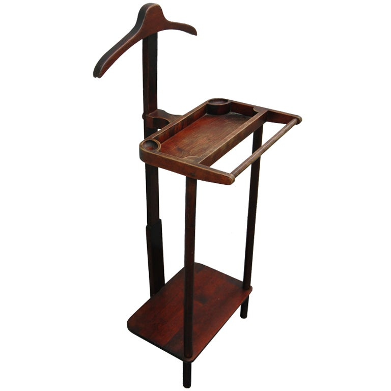A 19th Century Mahogany Valet Stand at 1stdibs