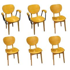 Light Wood Dining Chairs Hanging Chair Gumtree Cape Town Set Of Six Denmark 1970s At