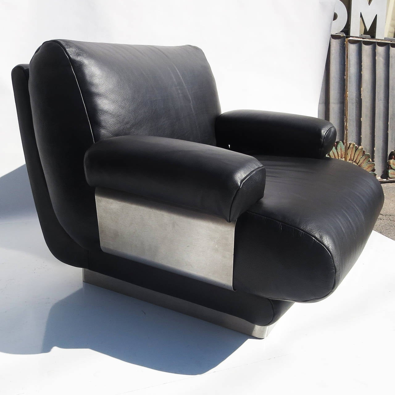 buffalo leather chair table and chairs jacques charpentier club in
