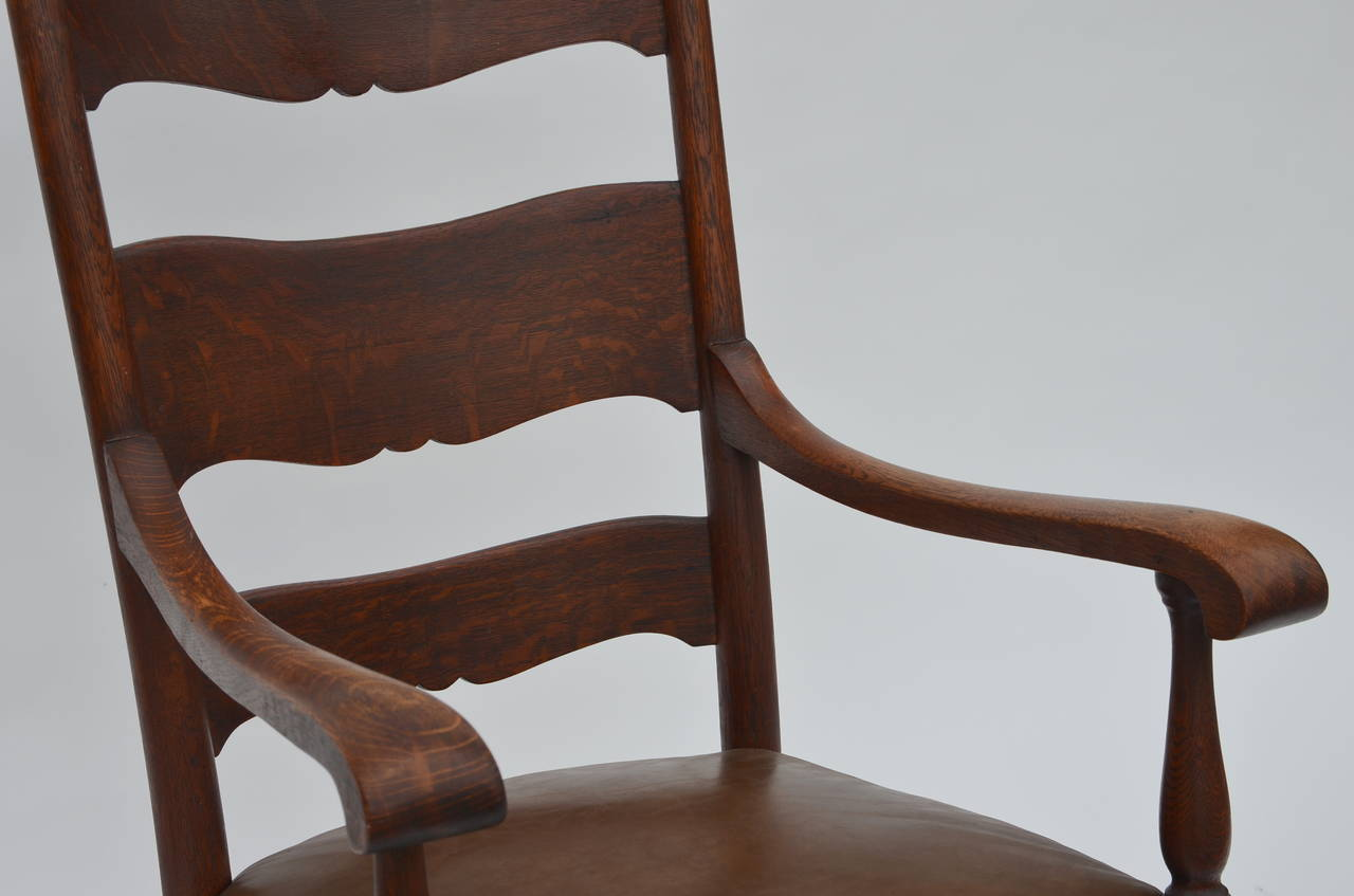 Comfortable Rocking Chair Comfortable Arts And Crafts Carved Oak Rocking Chair At