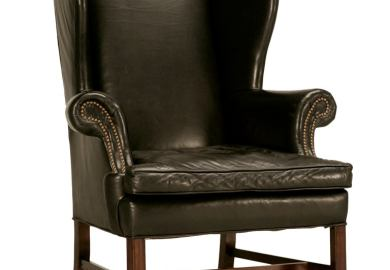 Leather Wingback Chairs
