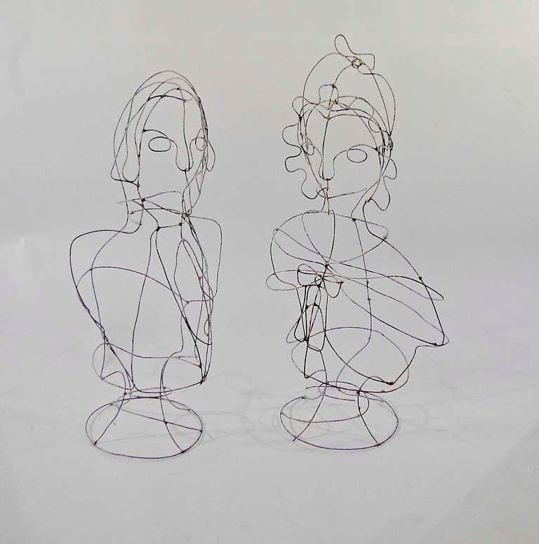Wire Sculpture by Karl Schwartz at 1stdibs