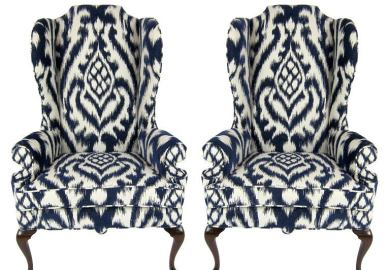 High Back Upholstered Dining Chairs