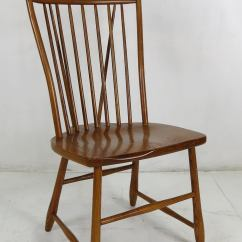 Windsor Style Chairs 6 Antique Oak Dining Set Of Six High Back At 1stdibs