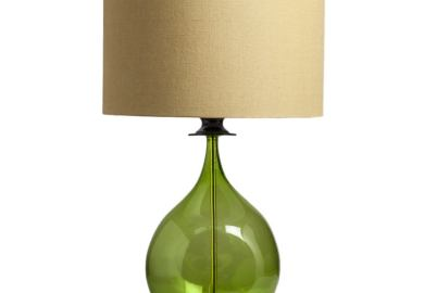 Green Glass Table Lamps