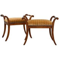 *sale* Swedish Empire Biedermeier Birch Sofa At 1stdibs