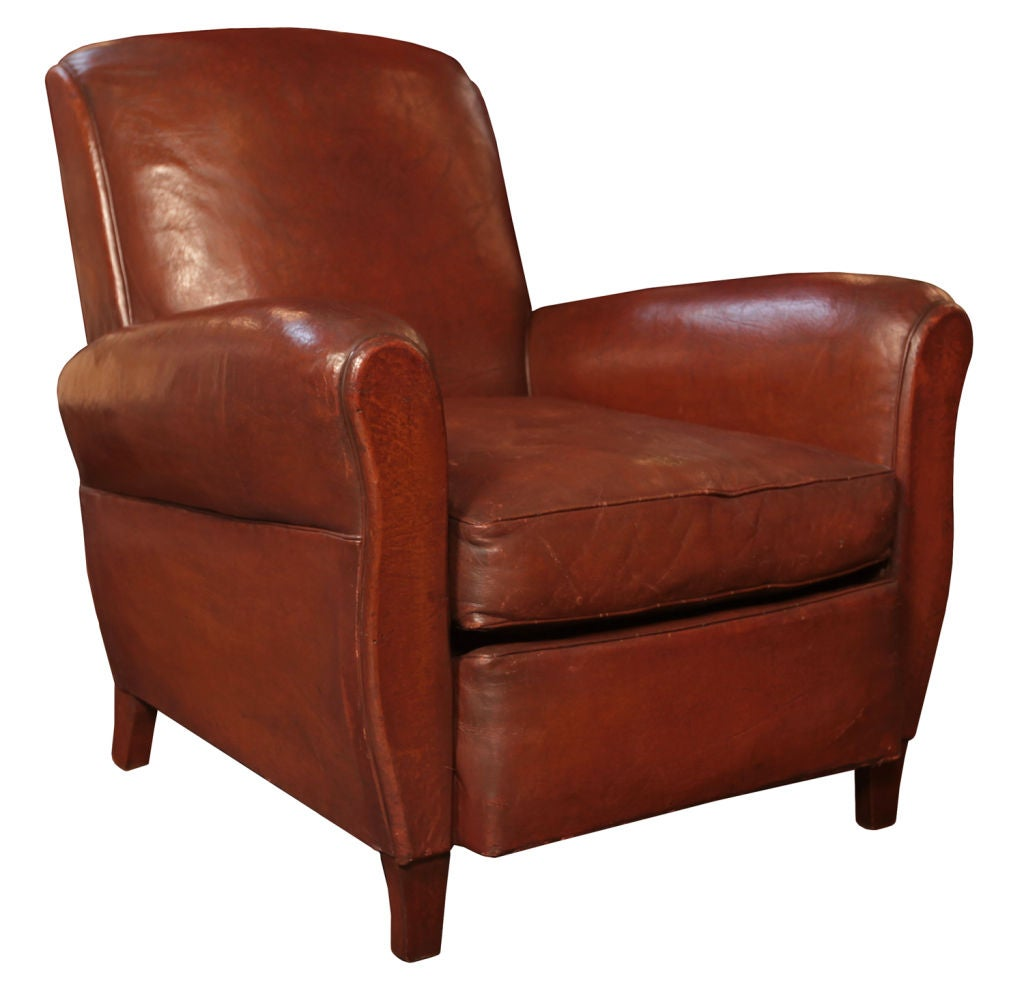 art deco club chairs leather chair cover rental milwaukee french period at 1stdibs
