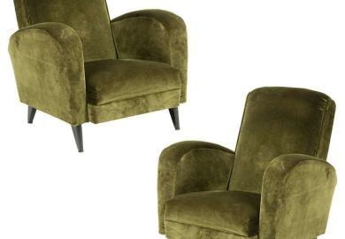Velvet Chair Vintage