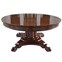 Dining Table: Round Dining Table Expandable