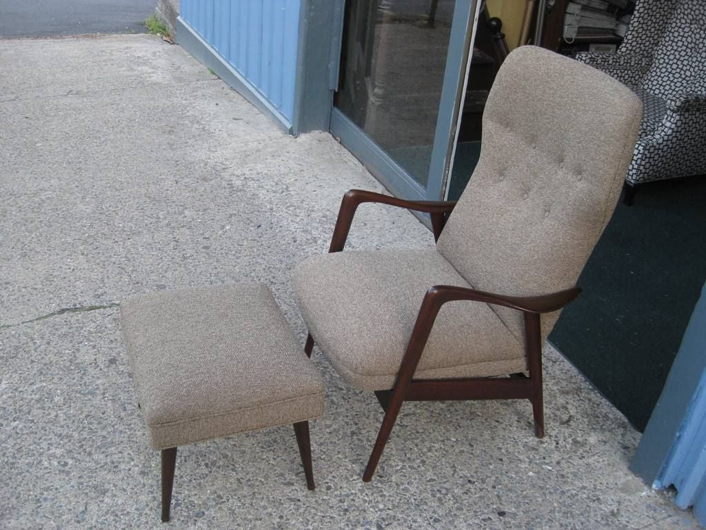most comfortable rocking chair waterless pedicure chairs gio ponti style and ottoman