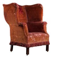 Oversized Wingback at 1stdibs