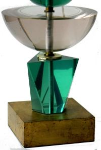Lucite Table Lamp by Van Teal at 1stdibs