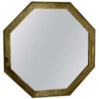 Octagon Shape Mid Century Modern Wall Hanging Mirror at ...