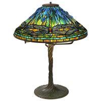 "Tiffany Studios New York ""Dragonfly"" Table Lamp at 1stdibs"