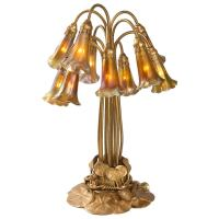 Tiffany Studios Ten-Light Lily Table Lamp
