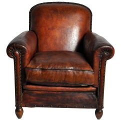 Art Deco Club Chairs Leather Table And Toys R Us Lounge Chair At 1stdibs