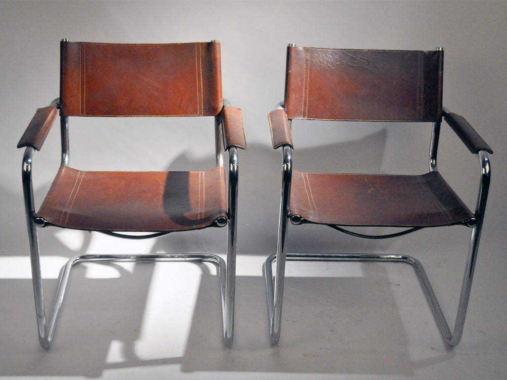 metal frame chairs bathroom safety shower tub bench chair pair of mg5 dining by matteo grassi at 1stdibs