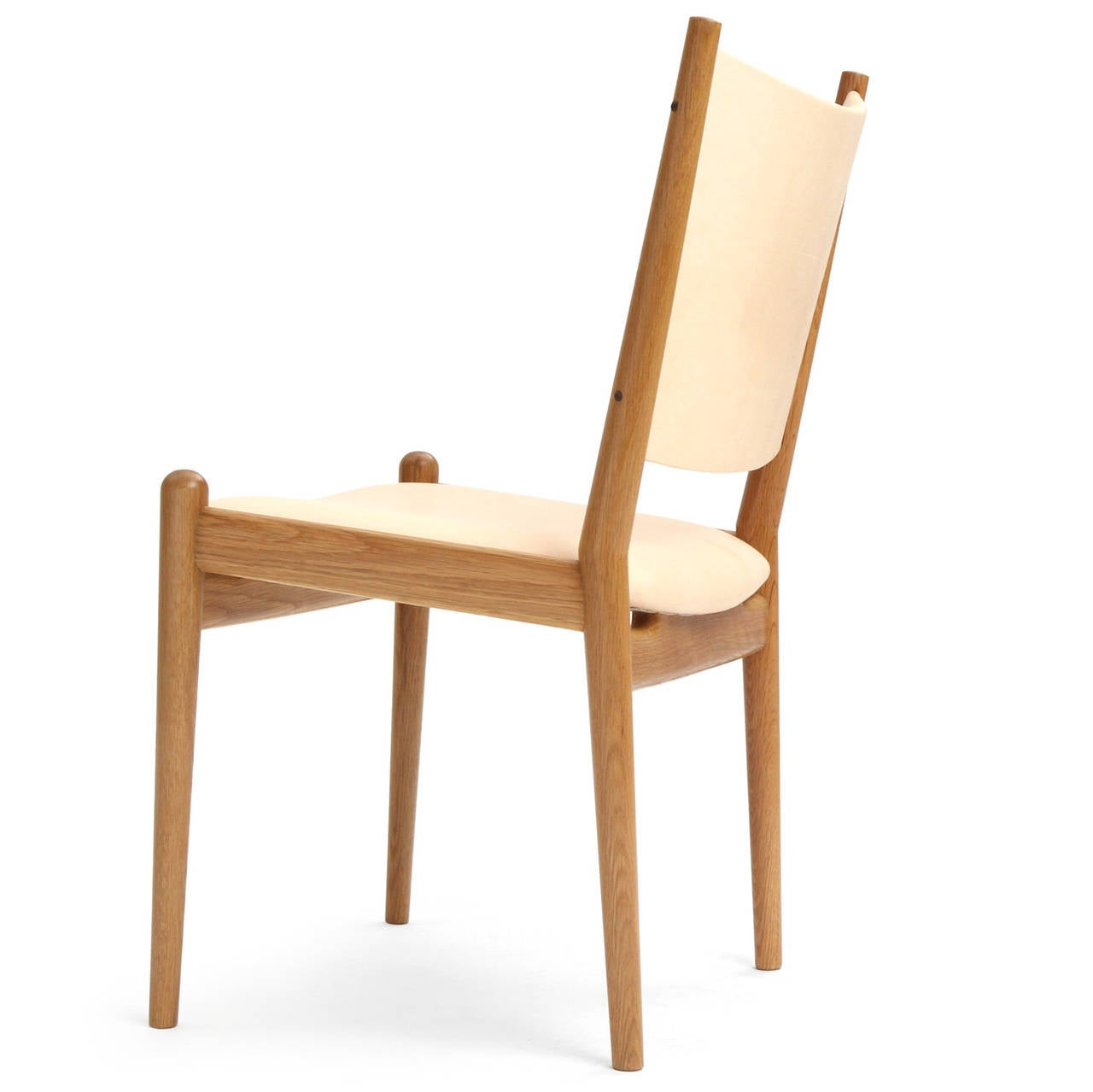 oak and white dining chairs comfortable for bedrooms leather by hans wegner at 1stdibs