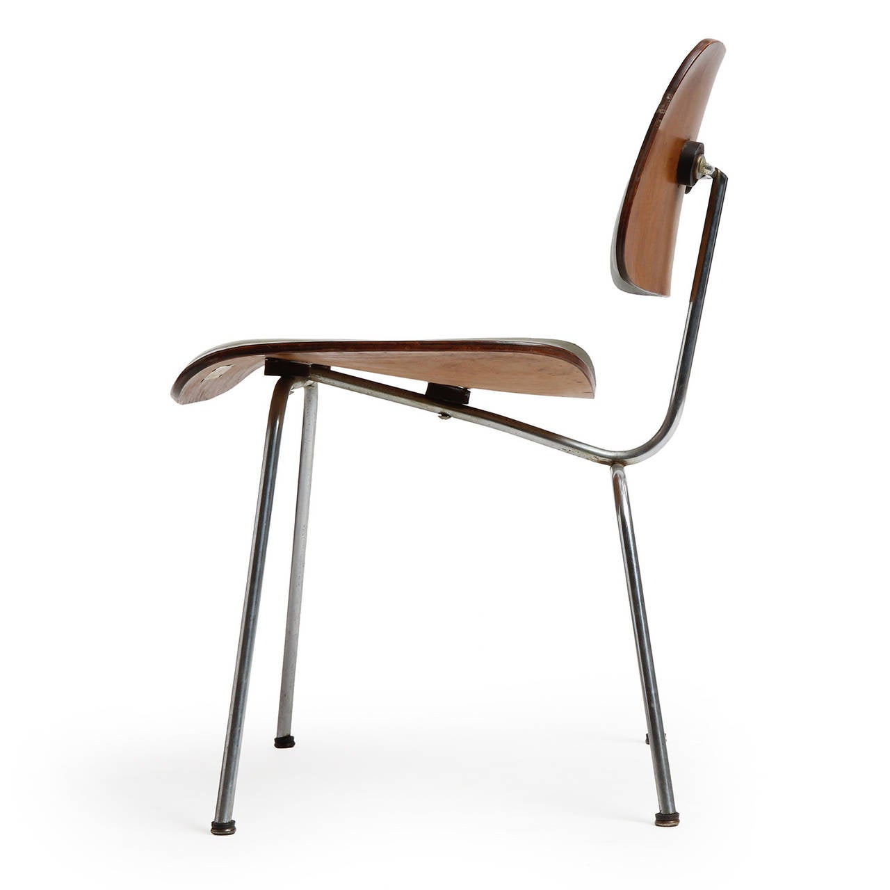 eames leather chair dining patio folding dcm by charles and ray at 1stdibs