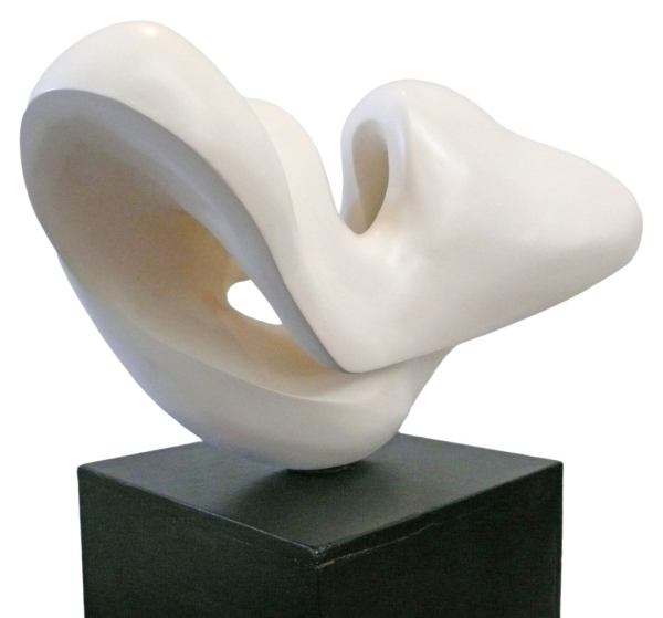Fantastic Biomorphic Plaster Sculpture 1stdibs
