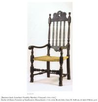 Chippendale Roundabout Corner Chair, Probably Newport at ...