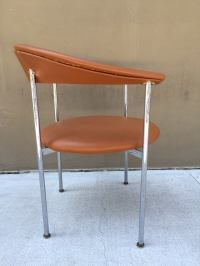Mid-Century Modern Chrome Side Chair image 3