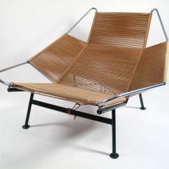 Flag Halyard Chair N S Rocking Hans Wegner Lounge 1950 Denmark At 1stdibs