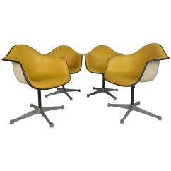 Metal Bucket Chairs Folding Chair With Wheels Charles Eames For Herman Miller At 1stdibs