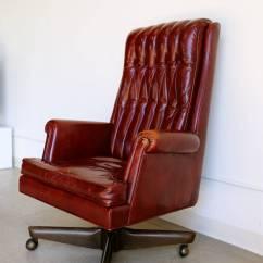 Distressed Leather Desk Chair Cardboard Design Template Executive By Monteverdi