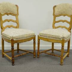 Country French Chairs Upholstered Ebay Uk Poang Chair Covers Six Style Carved And Ladder