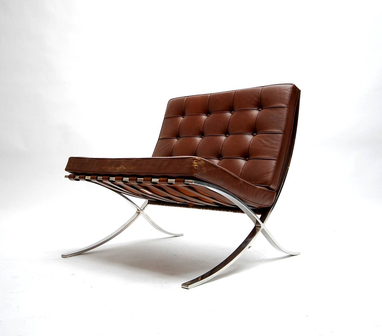 Barcelona Lounge Chair Exceptional Pair Of 1960s Barcelona Lounge Chairs By Knoll