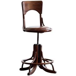 Drafting Chairs Wooden Dolls High Chair Toys R Us Antique Wood Stool Circa 1890s At 1stdibs