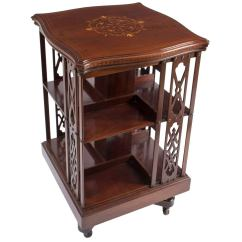Revolving Chair Manufacturer In Nagpur Most Expensive Auction Antique Edwardian Mahogany Bookcase Circa 1900