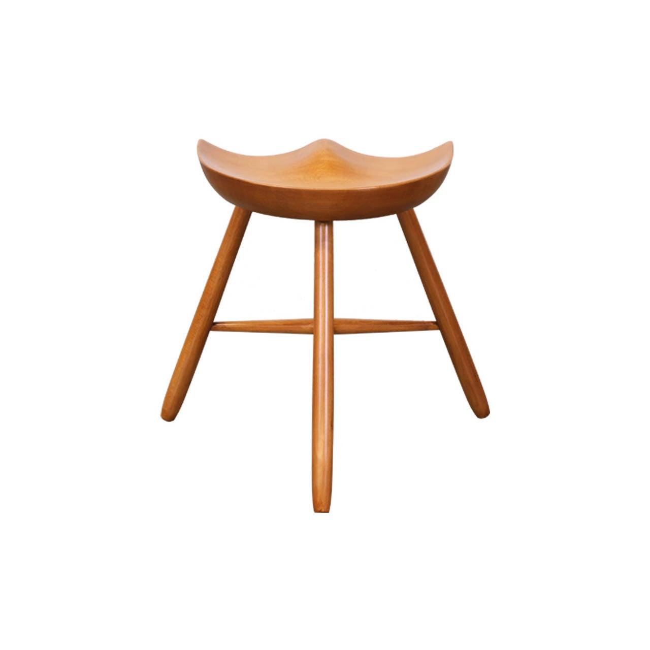 3 legged chair bedroom canada three milking stool after mogens lassen at 1stdibs