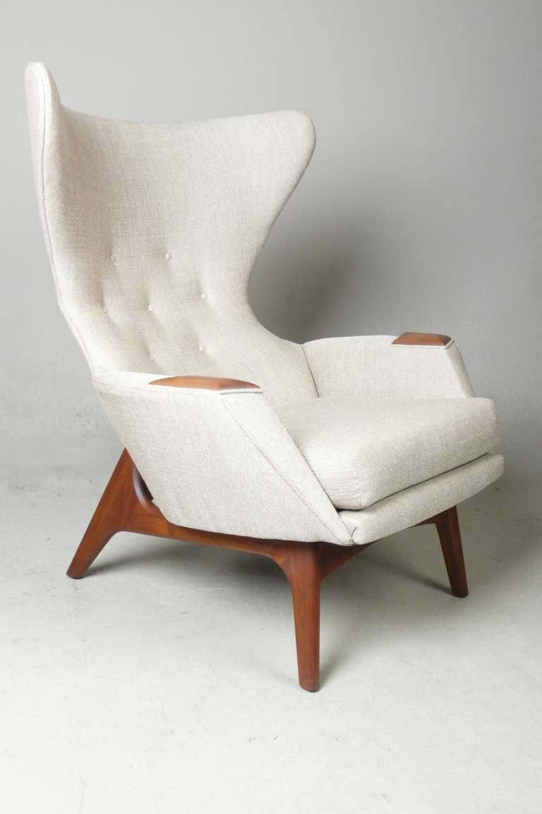 Adrian Pearsall for Craft Associates Modern Wingback Chair