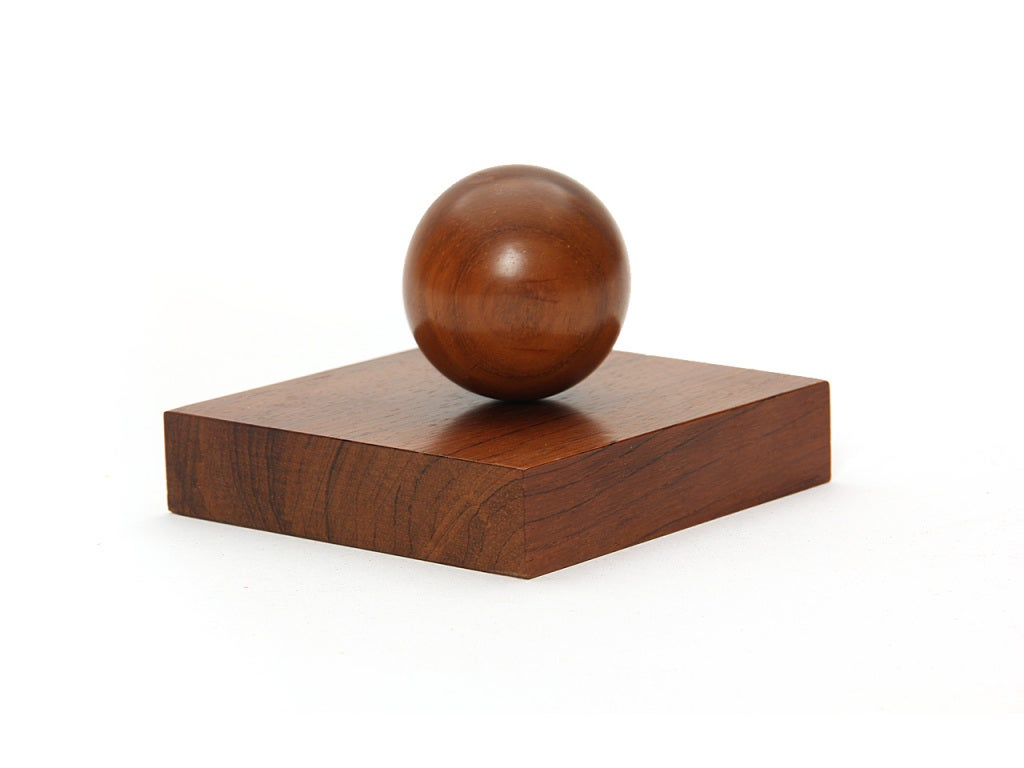 Magnetic Rosewood Executive Desk Accessories at 1stdibs
