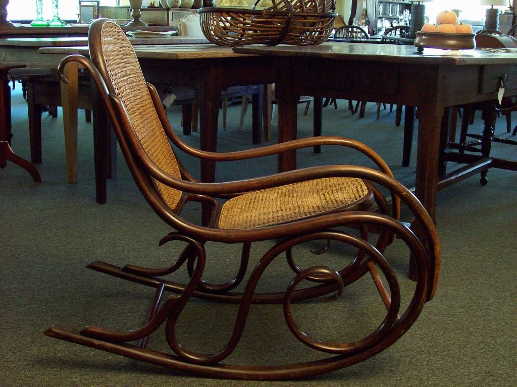 antique rocking chairs value martha stewart chair covers thonet sale at 1stdibs
