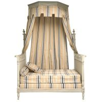 Spectacular Antq French Directoire Style Canopy Bed at 1stdibs