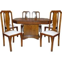 Dining Table: 1930 Dining Table Chairs