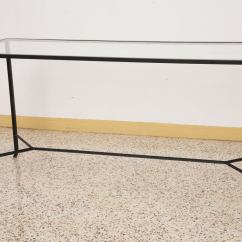 Wrought Iron Sofa Set In Pune Friheten Bed With Chaise Uk Sleek Modern Console Table At 1stdibs