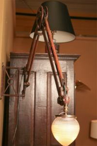 Early Electric Wall Mounting Lamp. at 1stdibs