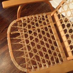 Horseshoe Rocking Chair Revolving Hsn Code Oak And Rawhide Snow Shoe At 1stdibs