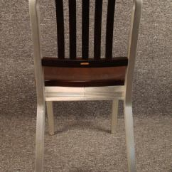 Shaw Walker Chair Covers Laura Ashley Wood And Aluminum Side At 1stdibs