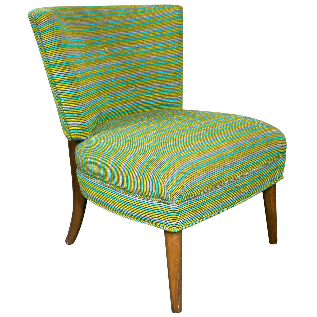 modern slipper chair shabby chic covers target midcentury at 1stdibs