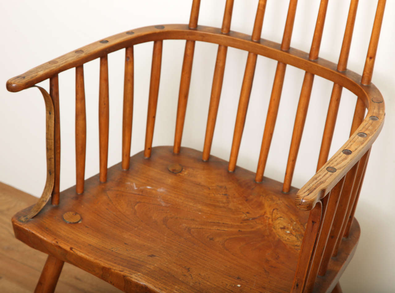 windsor style chairs florida beach mahogany english arm chair at 1stdibs