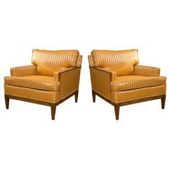 Art Deco Style Club Chairs Berlin Gardens Adirondack Chair Pair Of At 1stdibs