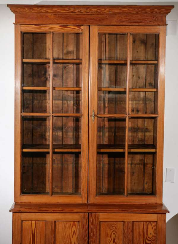 Tall Glass Front Cabinets