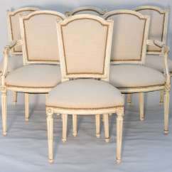 Louis Dining Chairs Herman Miler Chair Set Of Six French Room Xvi At 1stdibs