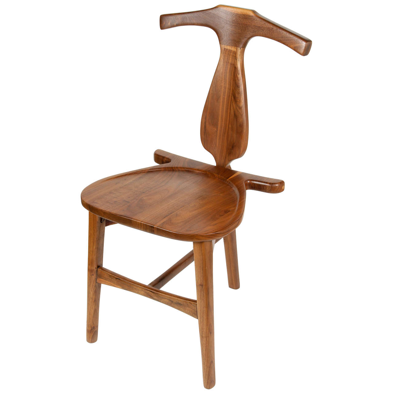 Wenger Chairs Valet Chair In The Manner Of Hans Wenger At 1stdibs