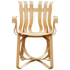 Frank Gehry Chair Cane Peacock For Sale Hat Trick Arm By Knoll At 1stdibs